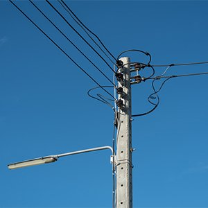 PCC electricity power line compensation